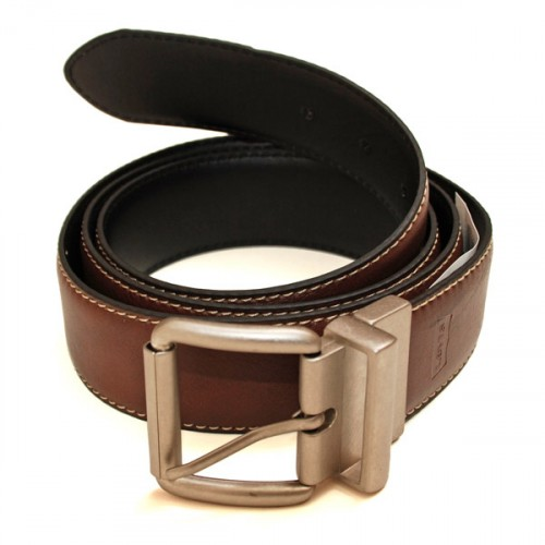 Big and Tall Reversible Belt - Brown/Black