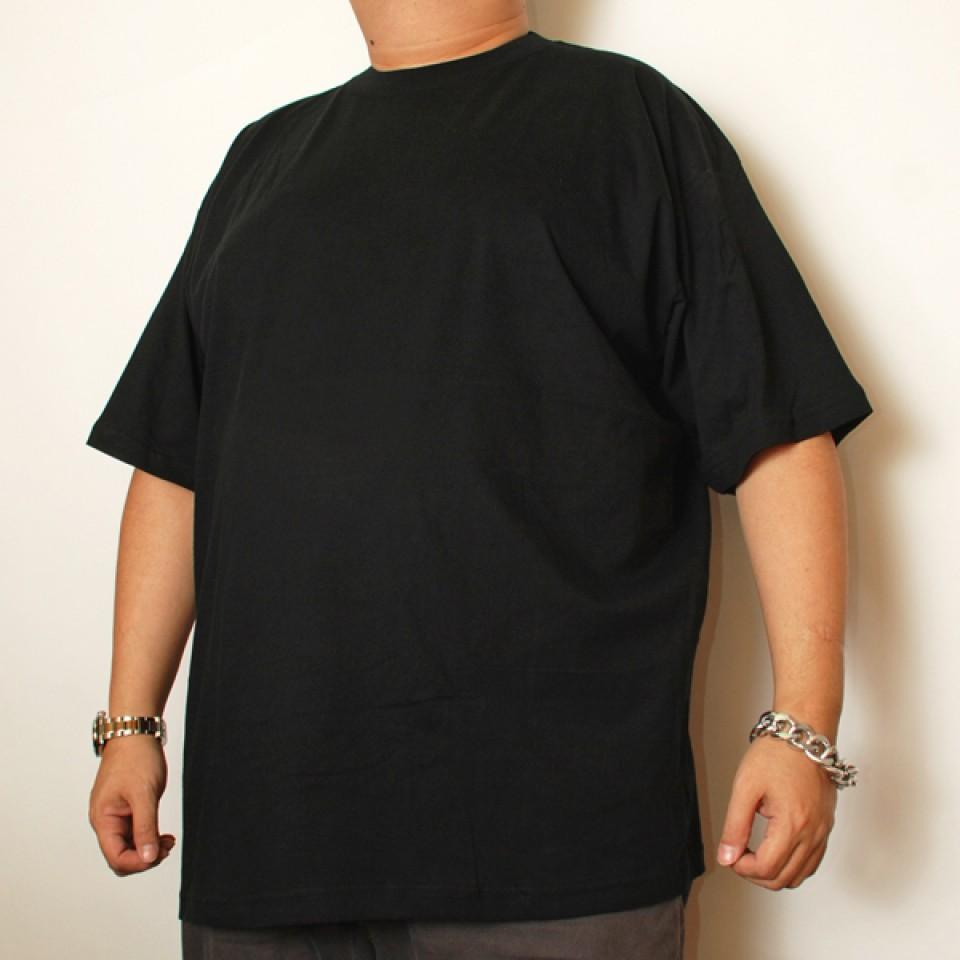 Cotton Short Sleeve Undershirt - Black