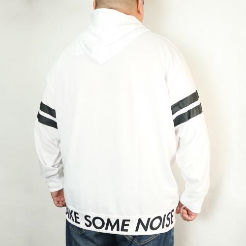 Make Some Noise Hoodie - White