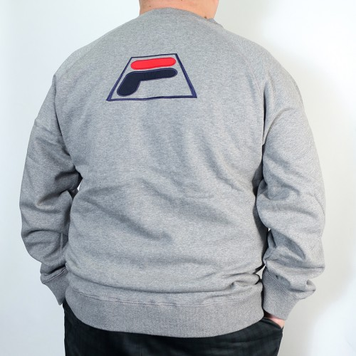 Simple Logo Crew Trainer - Grey