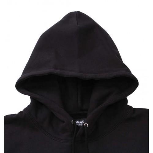 Colourful Checkered Logo Hoodie - Black