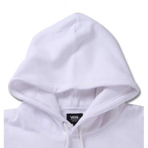 Colourful Checkered Logo Hoodie - White