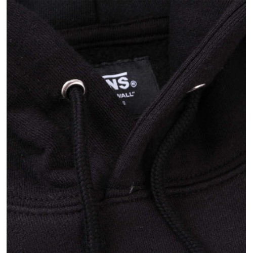 Abstract Lines Scooter Logo Hoodie - Black