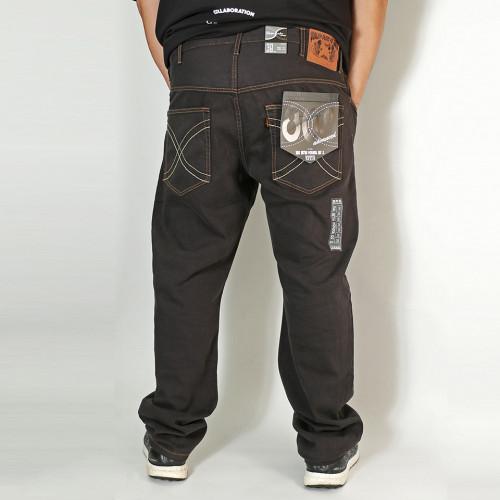 808A 元祖 Ganso Hinshitsu Jeans - Charcoal Black