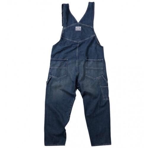 Denim Overalls - Blue
