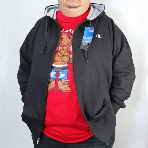 Full Zip L/S Fleece Jacket - Black
