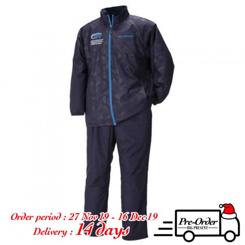 Taffeta Warm Fleece Jersey Set - Navy