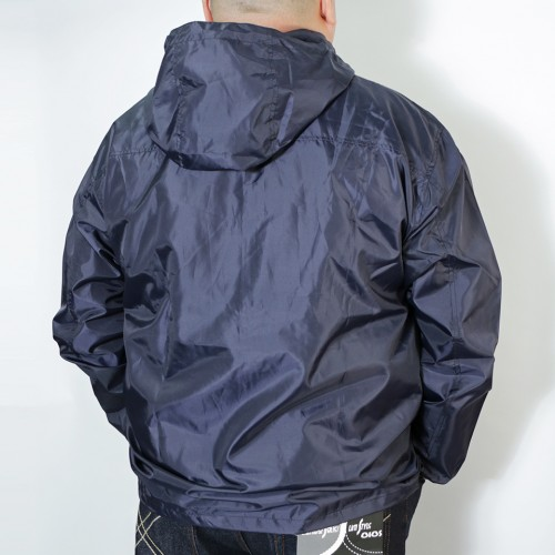 Breathable Mesh Windbreaker - Navy