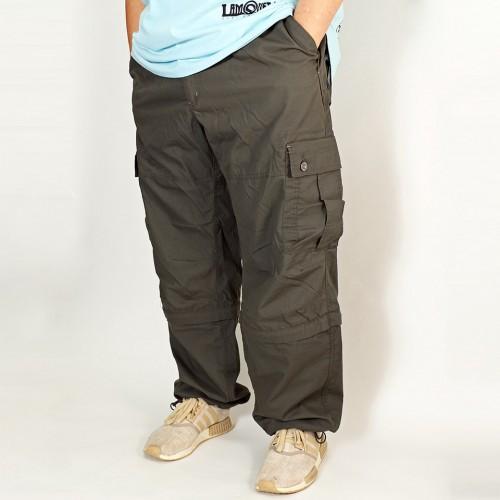 2 Way Cargo Pants - Sage Green