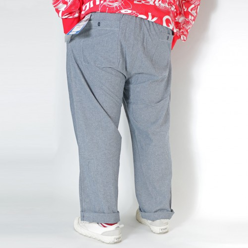 Casual Cotton Pants - Grey
