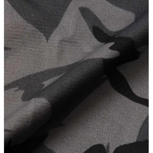 Camouflage Pattern Sweat Pants - Grey