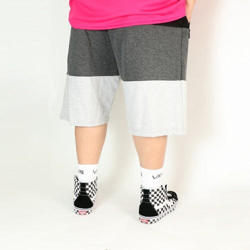 3 Colour Tech Fleece Shorts - Black
