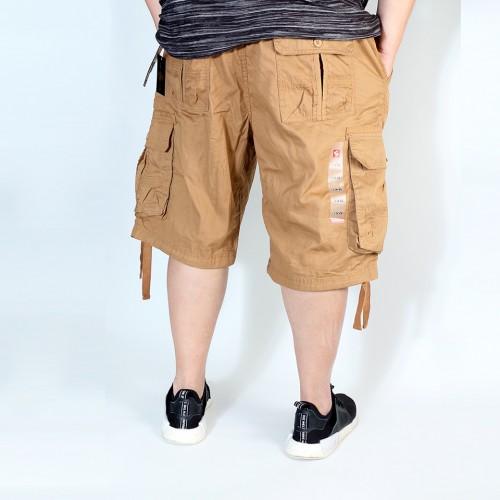 Simple Cargo Shorts - Khaki