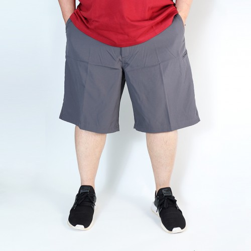 Elastic Utility Shorts - Carbonite