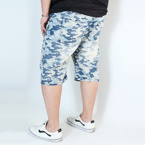 Vintage Denim Shorts - Camo