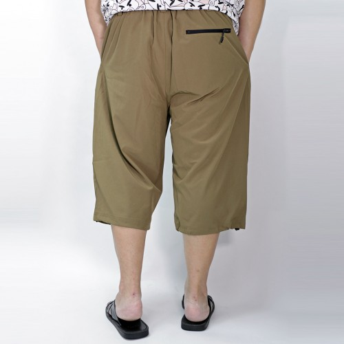 Outdoor Cropped Shorts - Olive