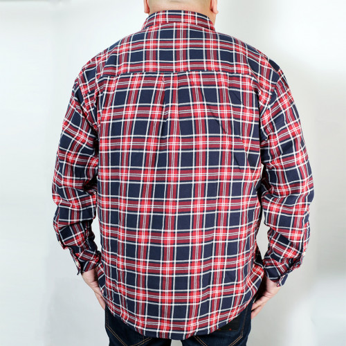 Long Sleeve B.D. Shirt - Navy/Red
