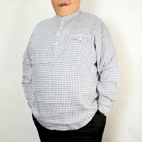 Bootboy Casual Shirt - White Check