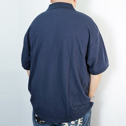 Kanoko Deodorant Tape Polo Shirt - Navy