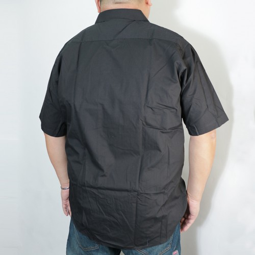 S/S Solid Woven - Black