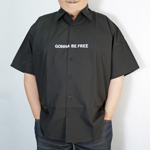 Gonna Be Free S/S Shirt - Black