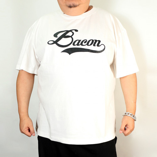 Classic Bacon Tee - White/Black