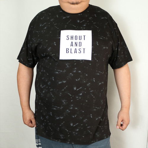 Shout And Blast Box Tee - Black