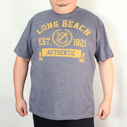 Long Beach Tee - Navy