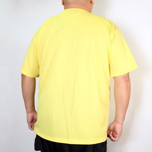 Classic Logo Dry-Mesh Tee - Yellow