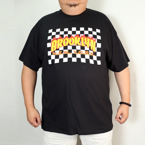 Brooklyn Fire Tee - Black