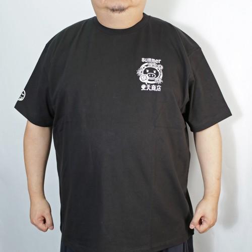 Natsu Matsuri Tee - Black